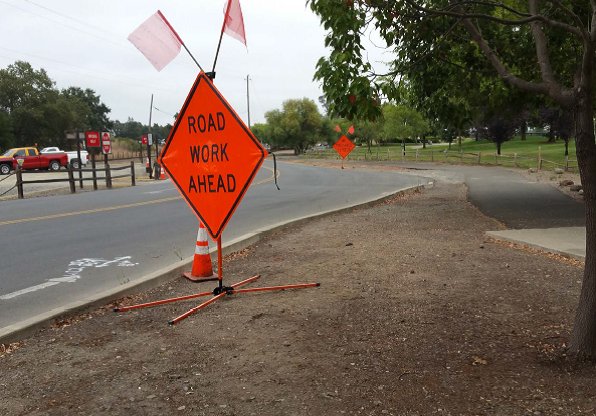 Oak Knoll Section - road work